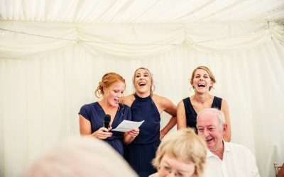 Bridesmaid Speeches Are Awesome!